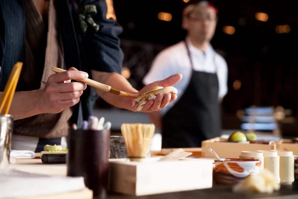 Was ist Omakase - Sushi-Menü nach Entscheidung des Kochs