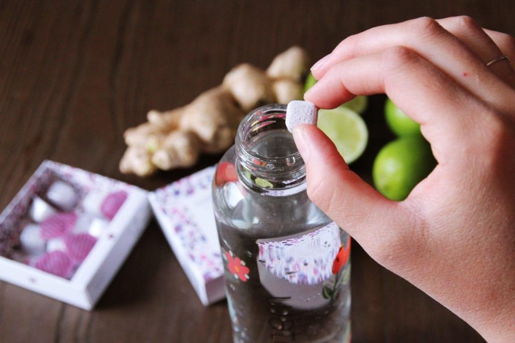 Im Test: Waterdrop - Drops passen in jede Flasche | Entdeckermagazin Miomente