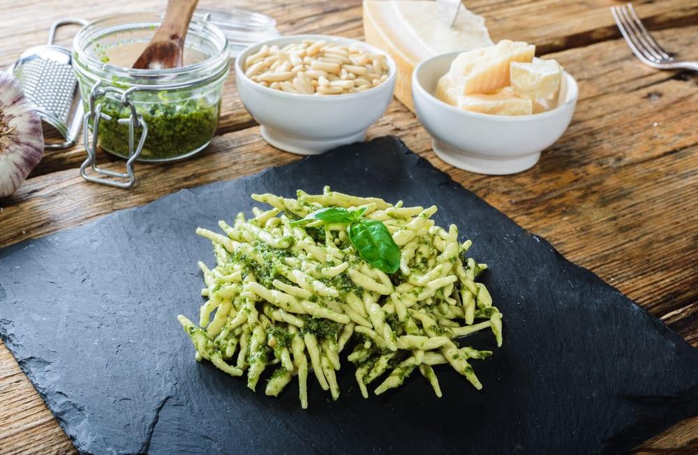 Trofie mit Pesto