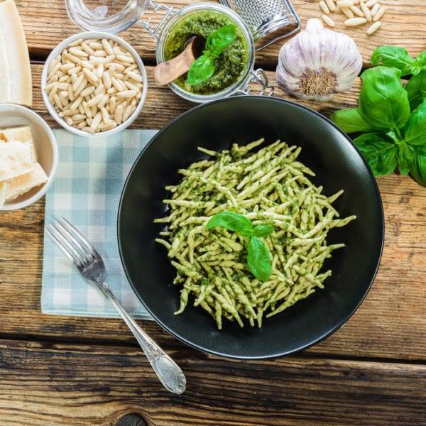 Trofie - italienische Pastaspezialität