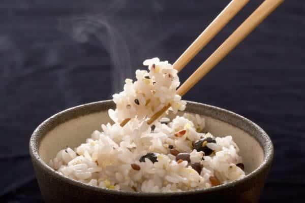 Gomashio auf Reis