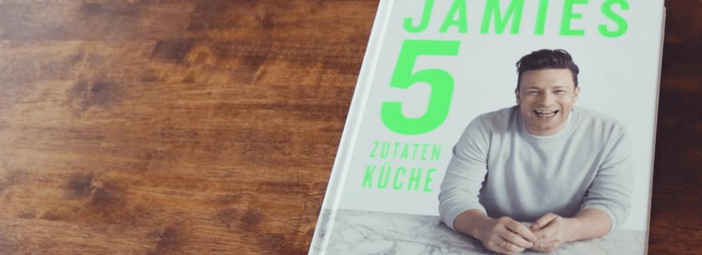 neues kochbuch von jamie oliver jamies 5 zutatenk che. Black Bedroom Furniture Sets. Home Design Ideas