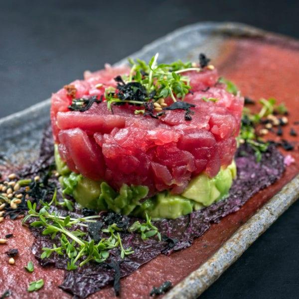 Rezept für Thunfisch-Tartar asiatisch