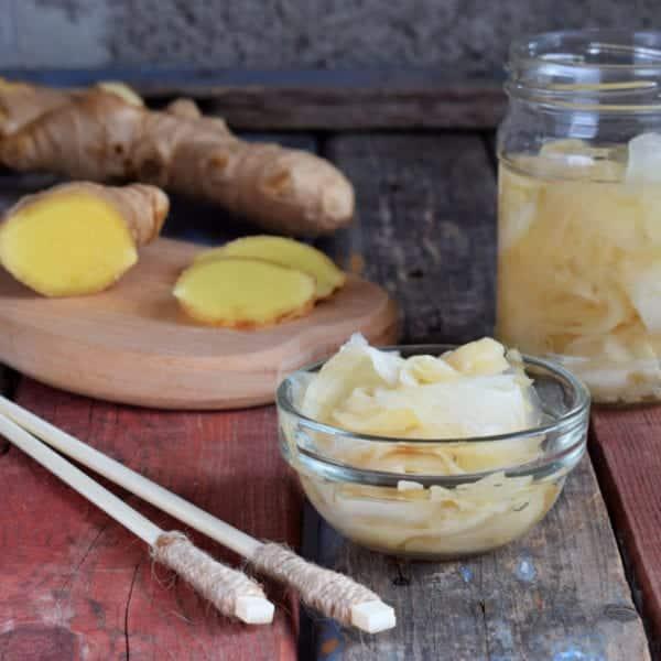 frisch eingelegter Ingwer - Rezept