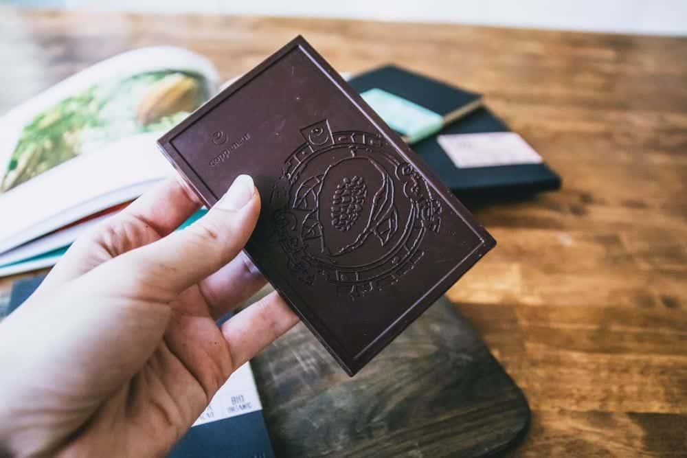 Dunkle Schokolade von Copeneur