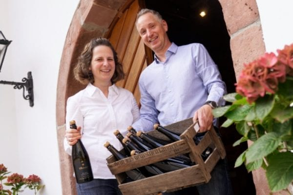 Barbara Roth und Mann Thorsten Ochocki vom Wilhelmshof