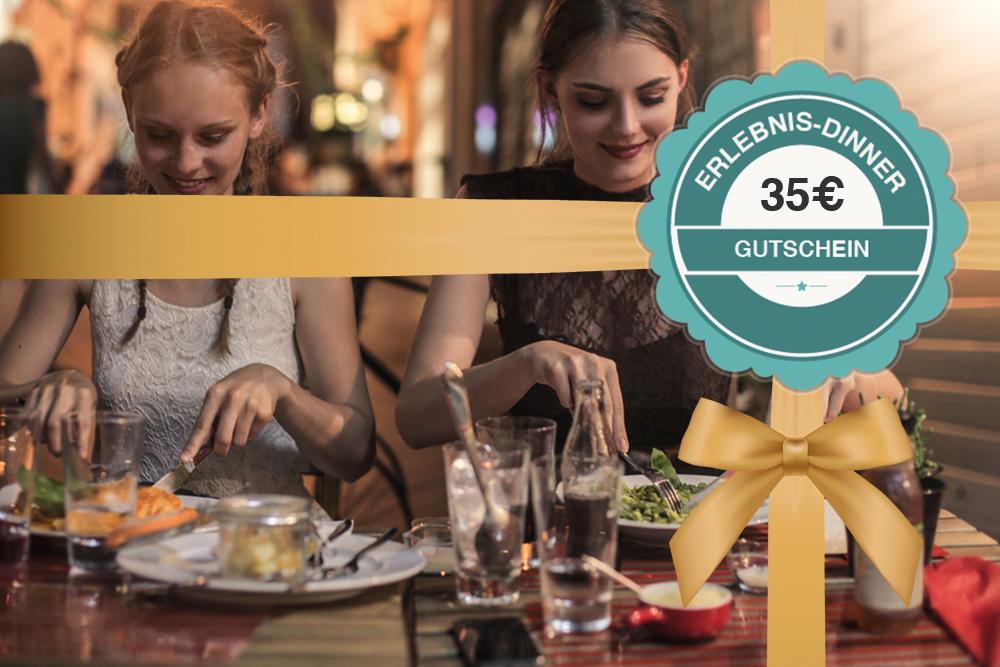 Gutschein für ein Erlebnis-Dinner 35€