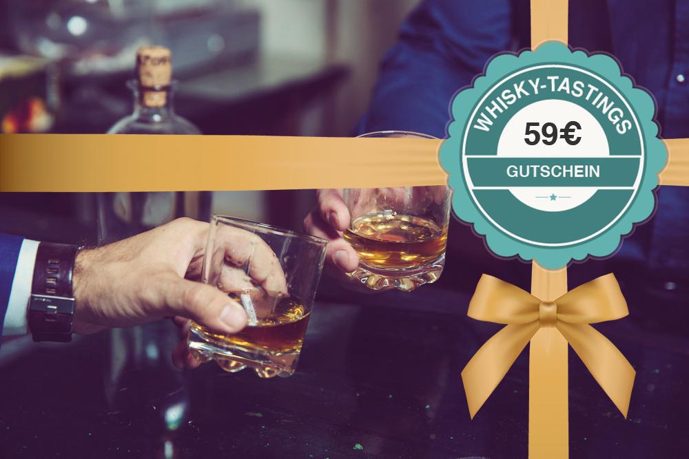 Gutschein für ein Whisky-Tasting 59€