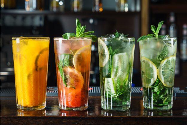 Cocktailkurs Köln – vier Cocktails auf dem Tresen