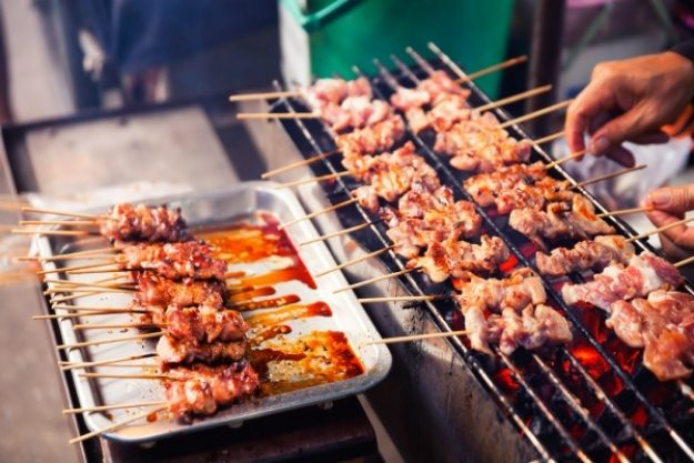 Indonesischer Kochkurs Köln – Saté Spieße