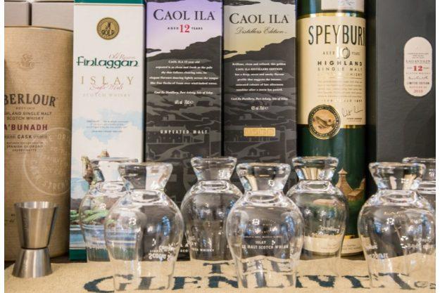 Whisky-Tasting in Köln Whiskygläser