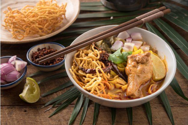 Thai-Kochkurs Köln – Khao Soi Kai