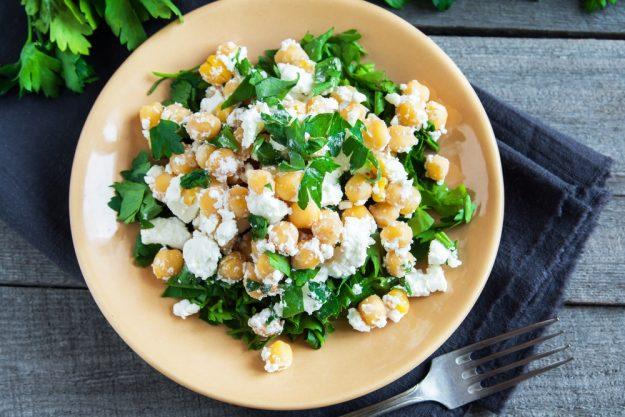 Vegetarischer Kochkurs Köln – Kicherersen Salat
