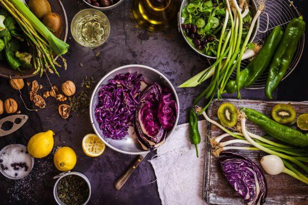 Vegetarischer Kochkurs Köln – Rotkohl und Gemüse