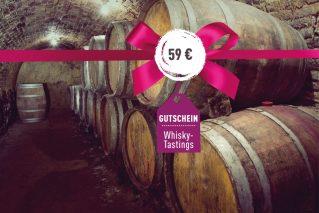Gutschein für ein Whisky-Tasting Gutschein für ein Whisky-Tasting 59€