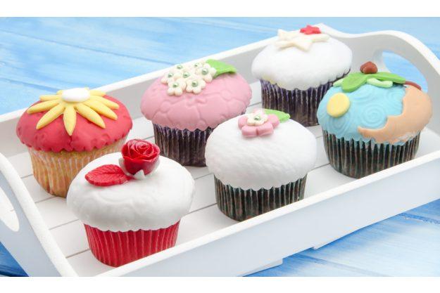 Cupcake-Kurs Frankfurt am Main - verzierte Cupcakes