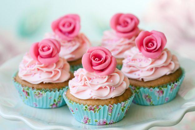 Cupcake-Kurs Frankfurt am Main - Rosen-Cupcakes
