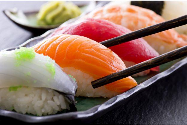Betriebsausflug Frankfurt Sushi