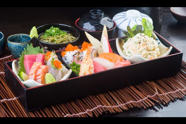 Brunch in Frankfurt – Sushiplatte