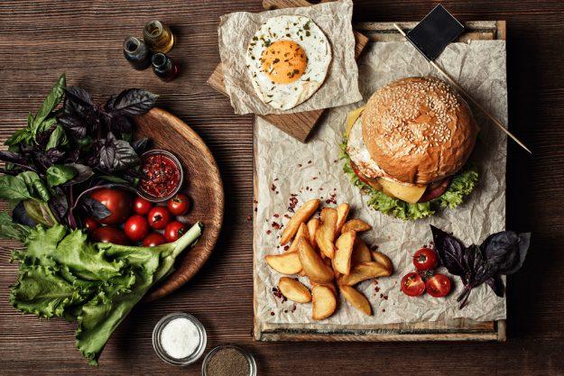 Burger-Kochkurs Frankfurt – Burger mit Spiegelei