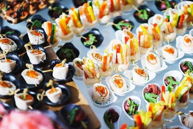 Fingerfood - Klein kommt groß raus - Buffet