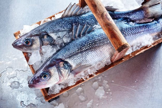 Fisch-Kochkurs Frankfurt – Loup de Mer in Korb