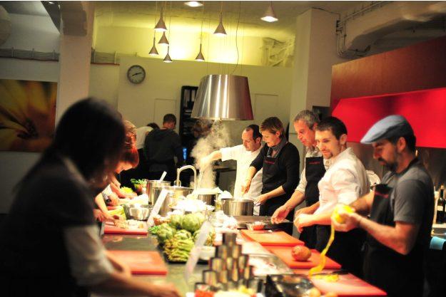 Italienischer Kochkurs Frankfurt - zusammen kochen