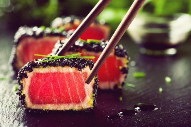 Asia-Kochkurs-Gutschein –Sushi mit rotem Lachs