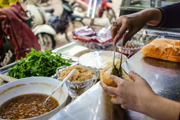 Online Kochkurs Streetfood – Banh Mi in Garküche