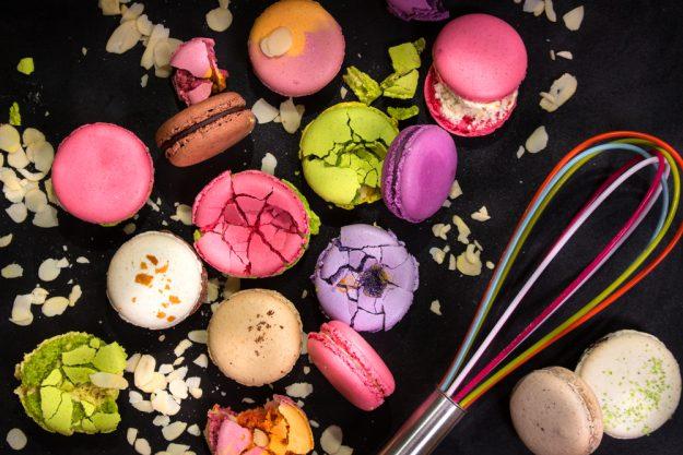 Macarons-Backkurs Frankfurt – kunterbunte Macarons