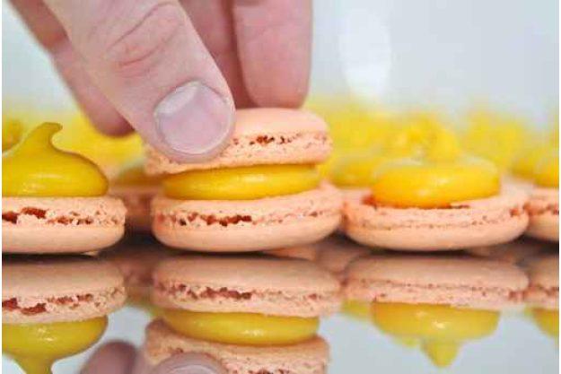 Macarons-Backkurs in Frankfurt - Macarons zubereiten