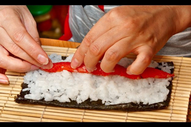 Sushi-Kurs in Frankfurt - Sushi rollen