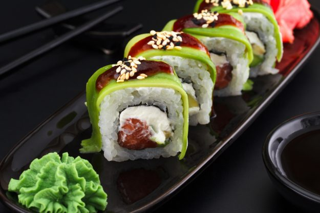 Sushi-Kurs Frankfurt – Wasabi-Rollen