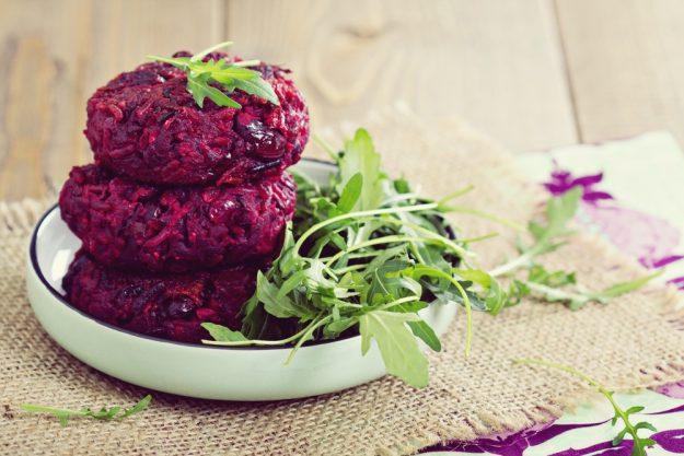 Vegetarischer Kochkurs Frankfurt –Rote Beete Burger