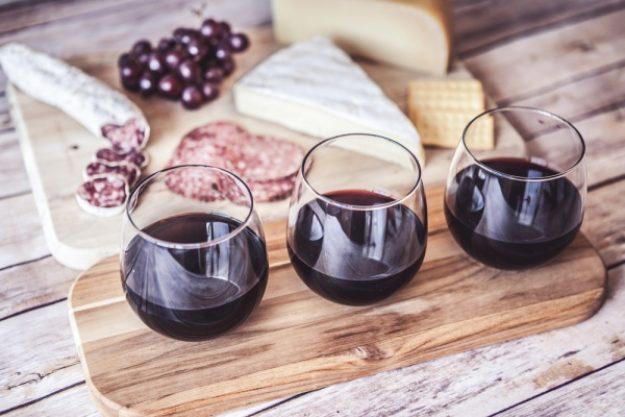 Weinseminar Frankfurt - Rotwein und Käse