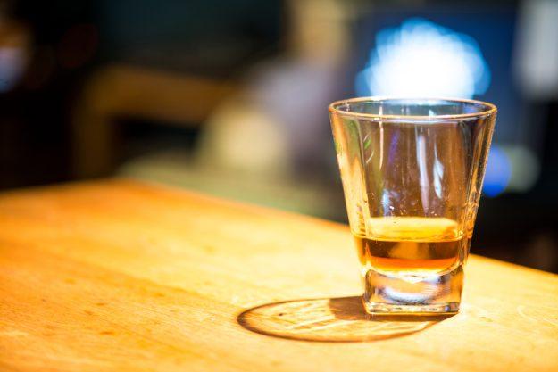 Whisky-Tasting Frankfurt - Glas Whisky