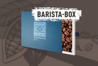 Barista-Kurs-Gutschein  Miomente BARISTA-Box