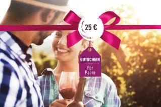 Gutschein für Paare Gutschein für Paare 25€