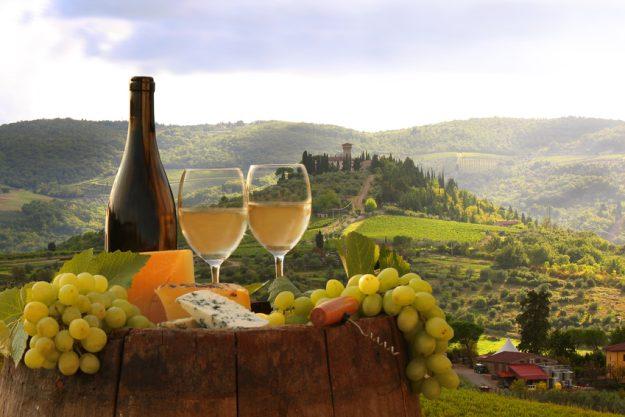 Betriebsausflug in Mannheim Weinprobe Italien