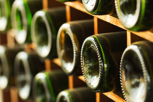 Weinseminar Mannheim - Weinflasche Grün