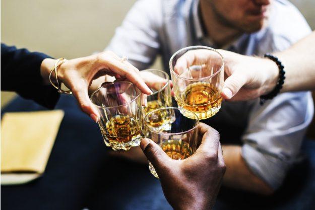 Whisky-Tasting Mannheim – anstossen