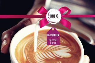 Baristakurs-Gutschein Baristakurs-Gutschein 180€