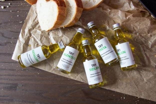 Olivenöl-Tasting at Home – Olivenöle und Brot