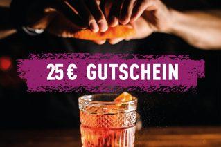 Erlebnis-Geschenk-Gutschein  25 € Geschenkgutschein