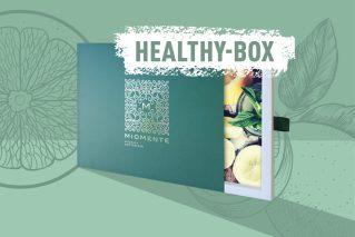 Gutschein für einen gesunden Kochkurs Miomente HEALTHY-Box
