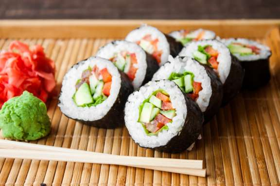 Sushi-Kurs Münster - Sushi Auswahl