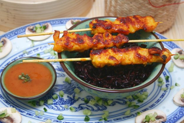 Thai-Kochkurs Senden - Sate Spieße