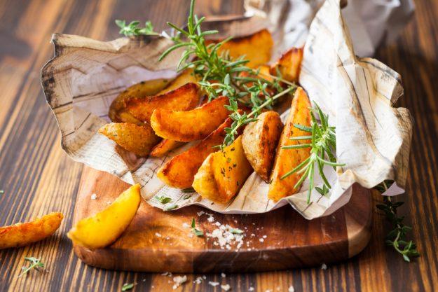 Burger-Kurs Münster - Kartoffelspalten
