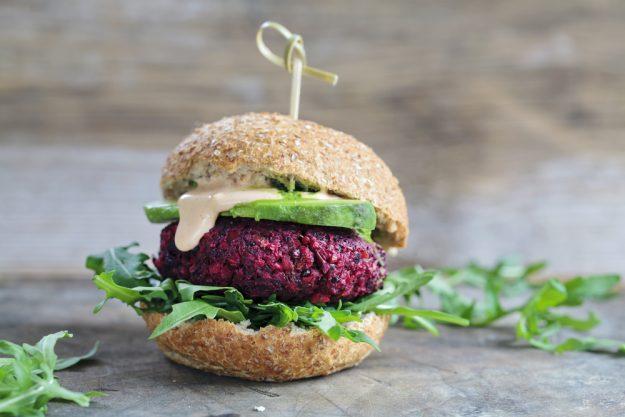 Burger-Kurs Münster - Rote Betet Burger