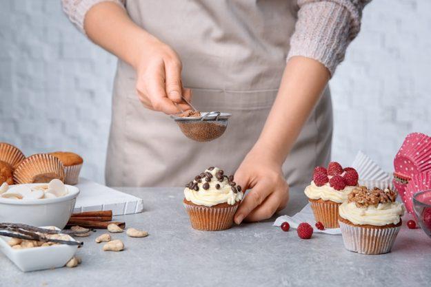 Cupcake-Kurs Merzen –  Cupcake garnieren